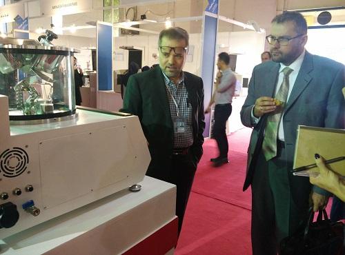 حضور و استقبال هیئت روسی از محصولات شرکت پوشش های نانوساختار