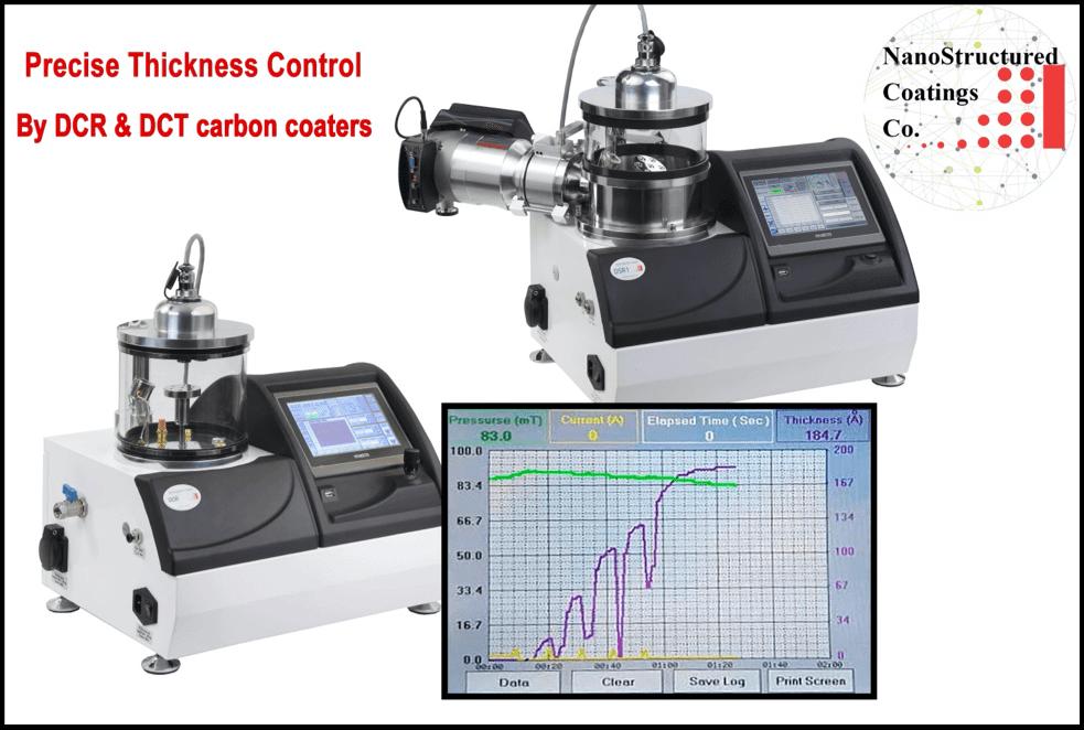 کنترل ضخامت لایه کربن در سیستم های لایه نشانی
