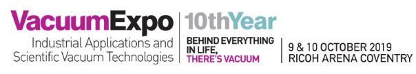 پوستر دهمین دوره نمایشگاه Vacuum Expo